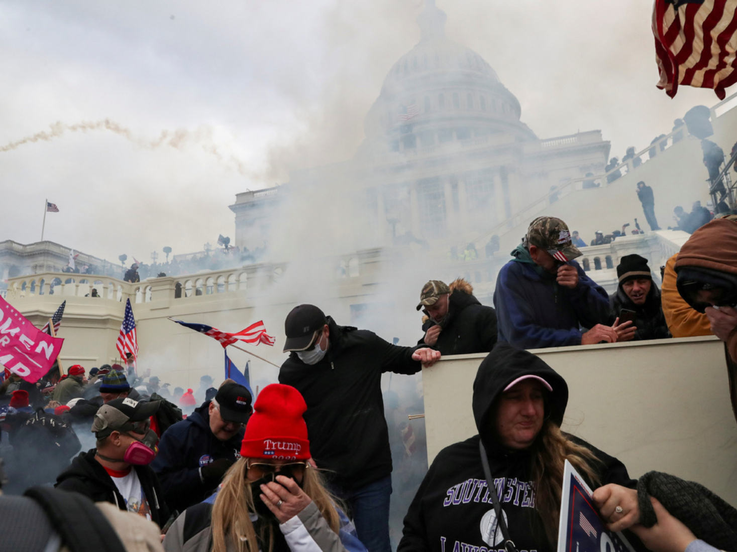 State capitols around US also saw protests