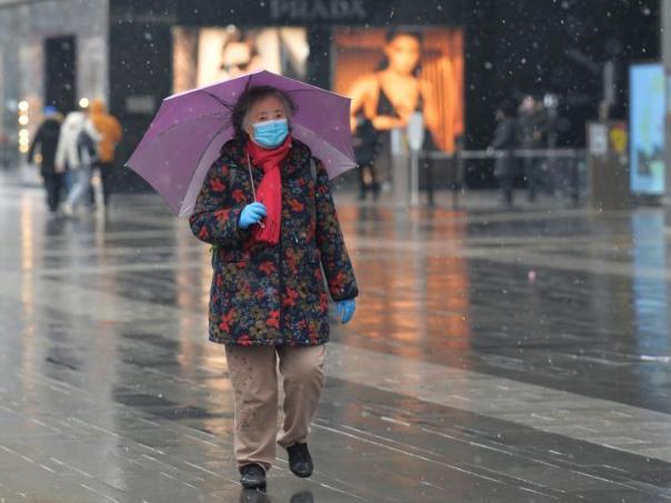 Snow hits China's Chengdu