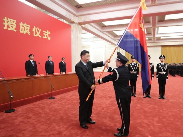 Xi stresses high-quality political, legal work