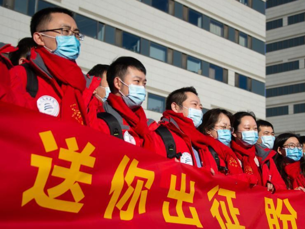 Medical team from Beijing assigned to Nangong City in Hebei to help with nucleic acid testing