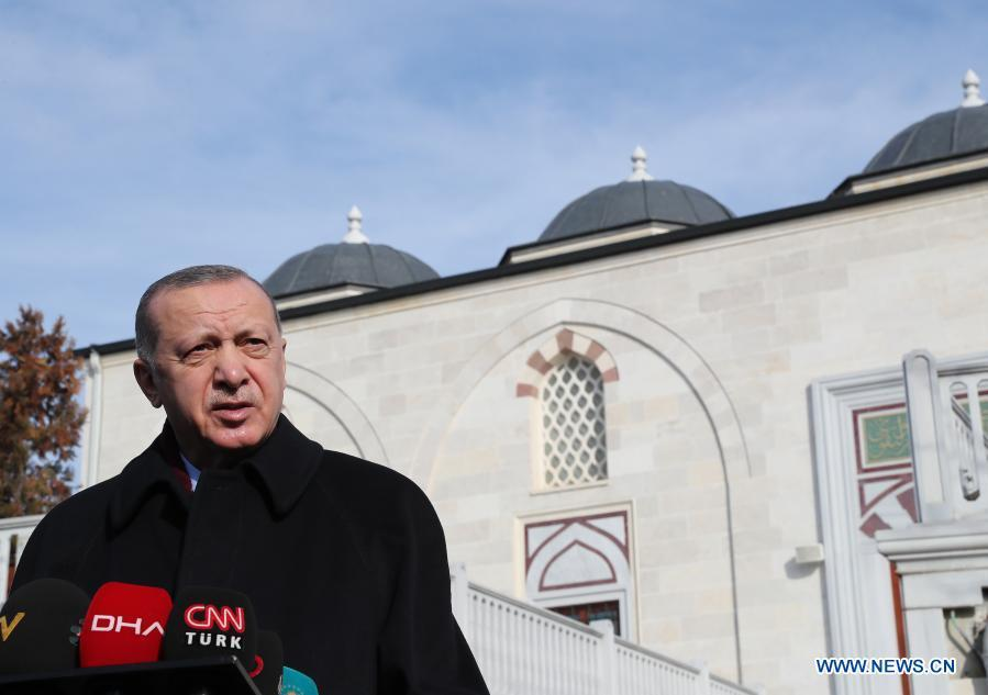 Turkish president says preparations continue for mass vaccination