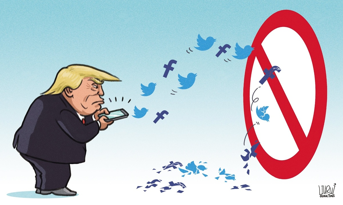 Twitter's suspension of Trump's account shows freedom of speech has boundaries in every society