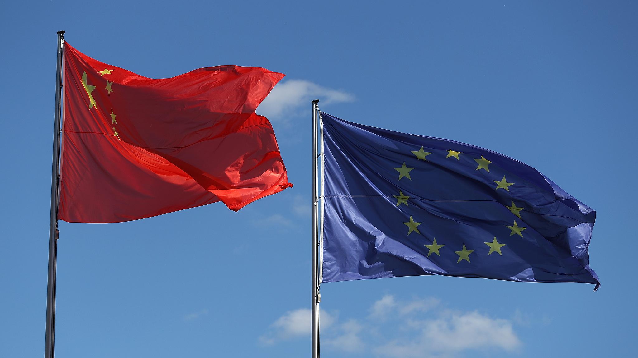 China highlights benefits of EU investment deal, hitting back at critics