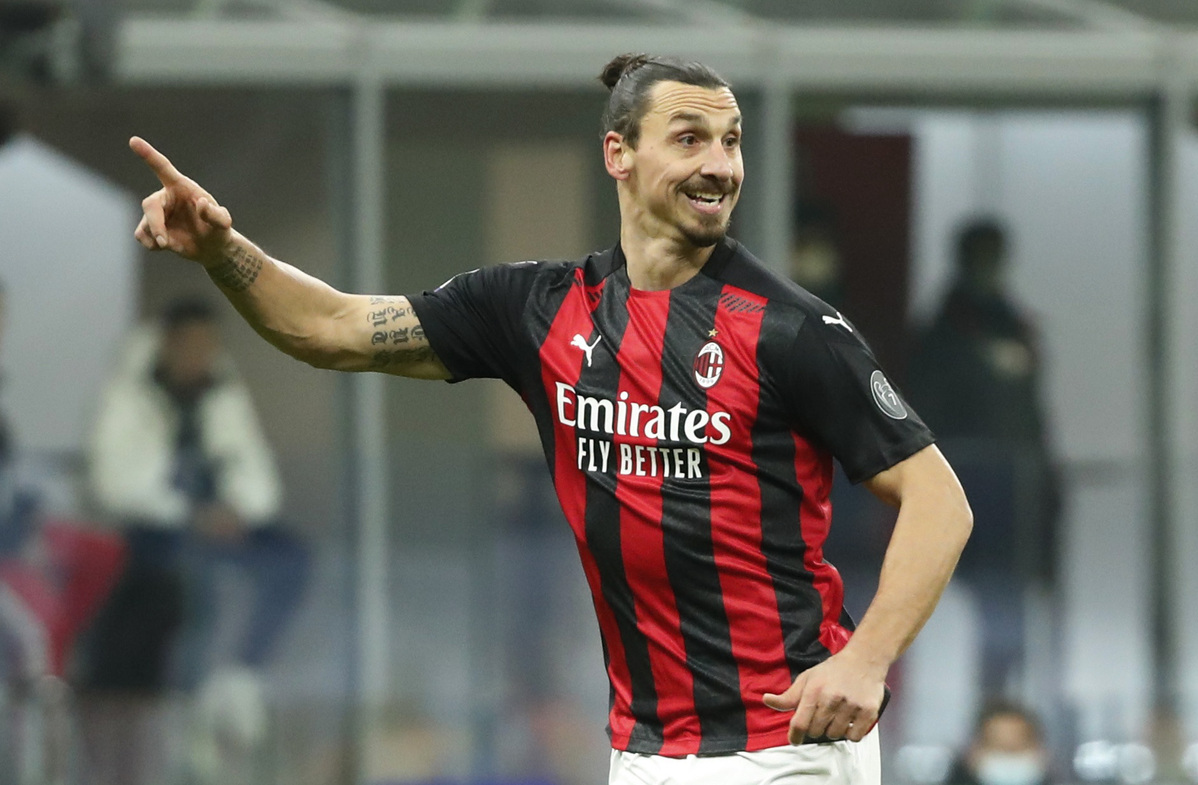 Ibrahimovic returns as Milan bounce back to extend Serie A lead