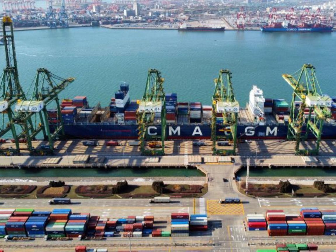 Tianjin Port sets new record of 18.35 million TEU for container throughput in 2020