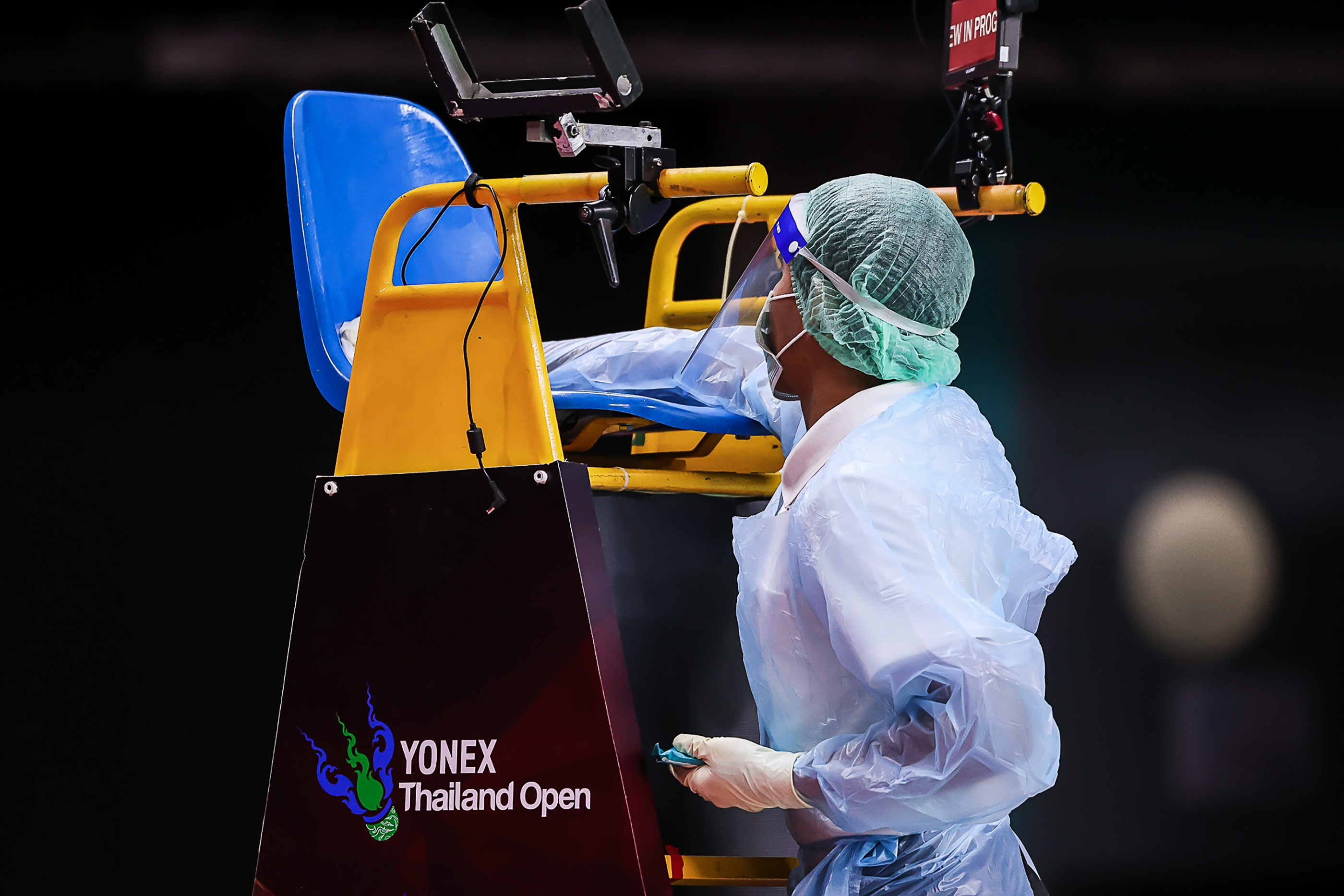 Four badminton players test positive for COVID-19 at Thailand Open