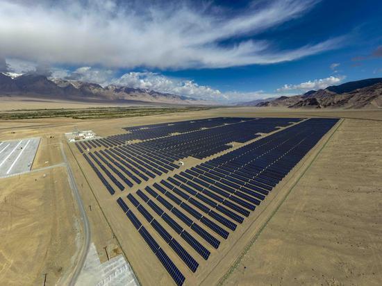 Xinjiang adds record power generating capacity in 2020