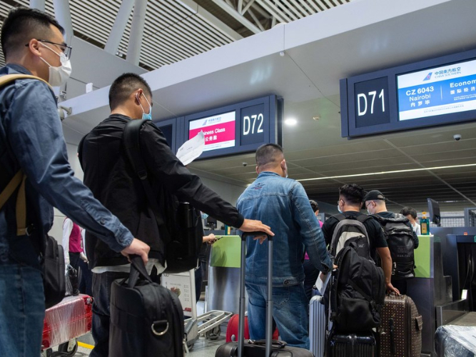 China suspends two inbound flights over COVID-19 cases