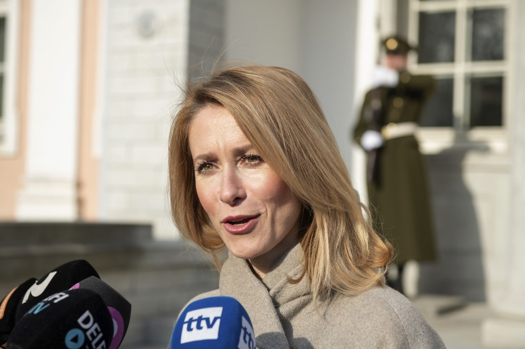 Europhile nominated to be Estonia's first woman PM