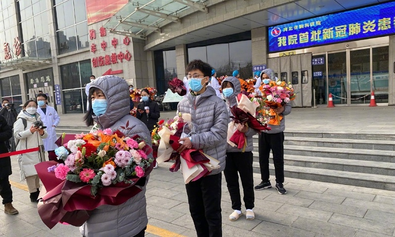 First group of 12 COVID-19 patients in Hebei latest outbreak discharged from hospital