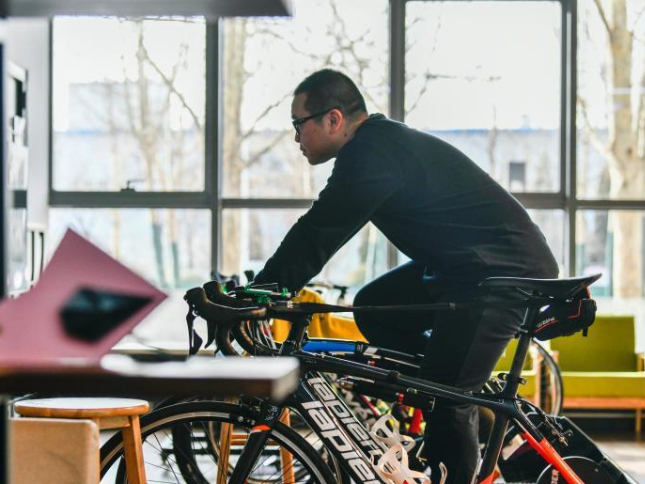 Tianjin's Wuqing, bicycle production and distribution center in northern China
