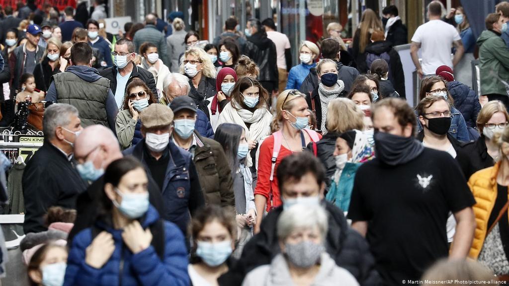 German virus cases top 2 million as Merkel urges tougher shutdown