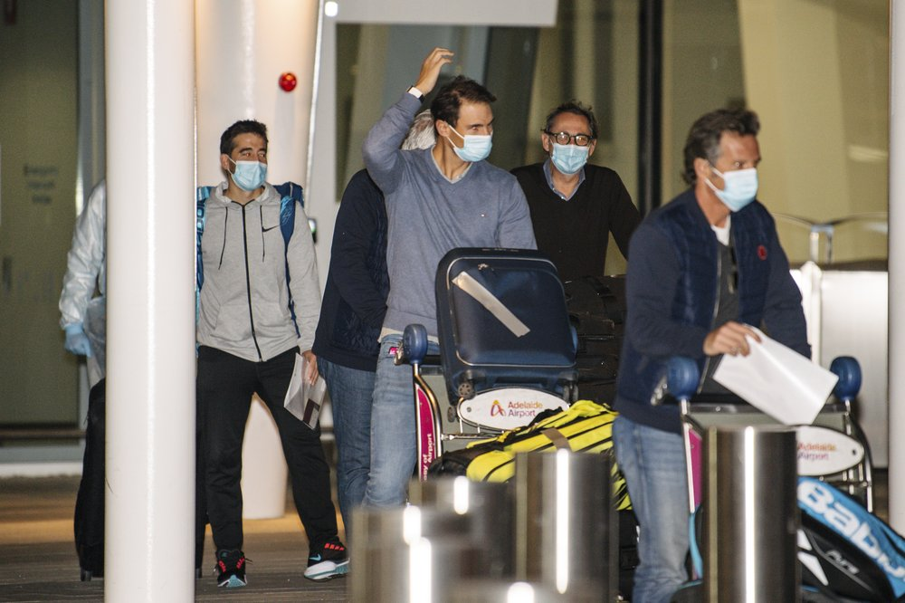 Players in lockdown after positive virus cases in Australia