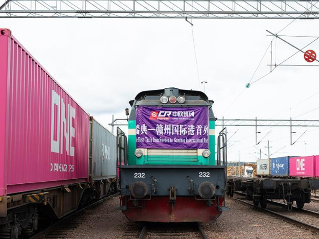 Guangzhou sees increased 2020 China-Europe freight train numbers