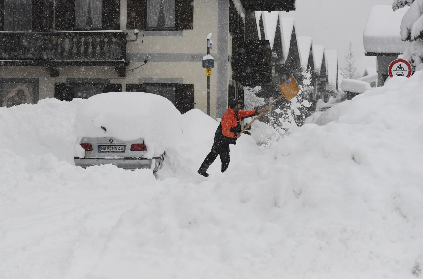 Freezing weather hits much of Europe, from Poland to Turkey