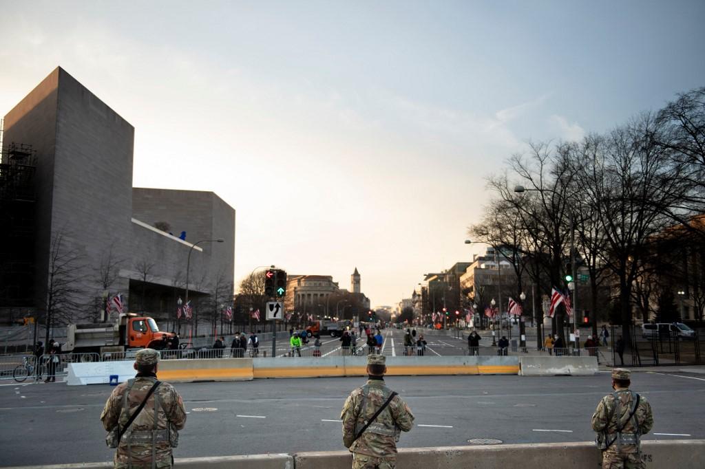 Security concerns put Washington DC on edge as Biden inauguration nears