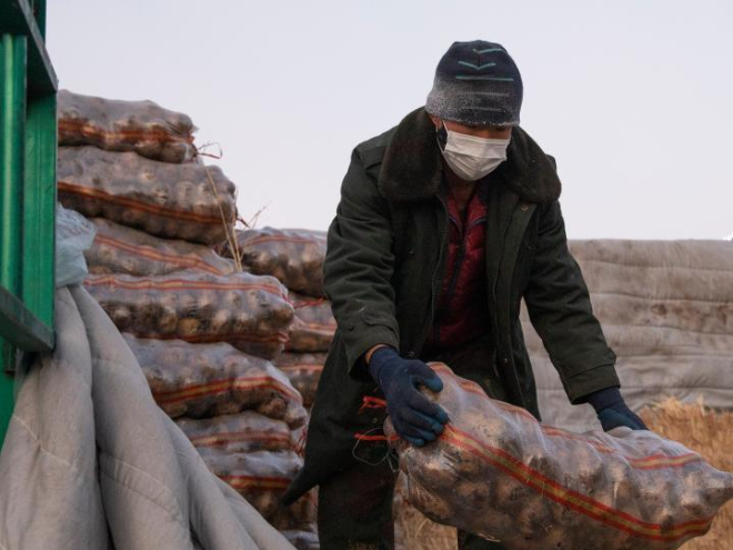 Food supply ensured amid strict restrictive measures in Suihua, Heilongjiang