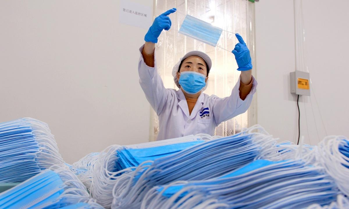 China's mask factories below 30% operating capacity as profits dry up