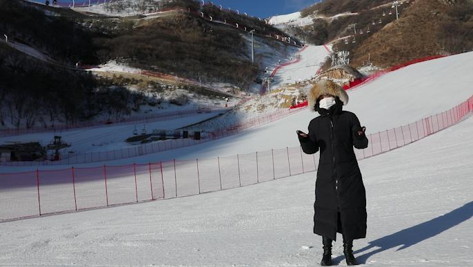 Sneak peek at Yanqing zone of Olympic Winter Games Beijing 2022