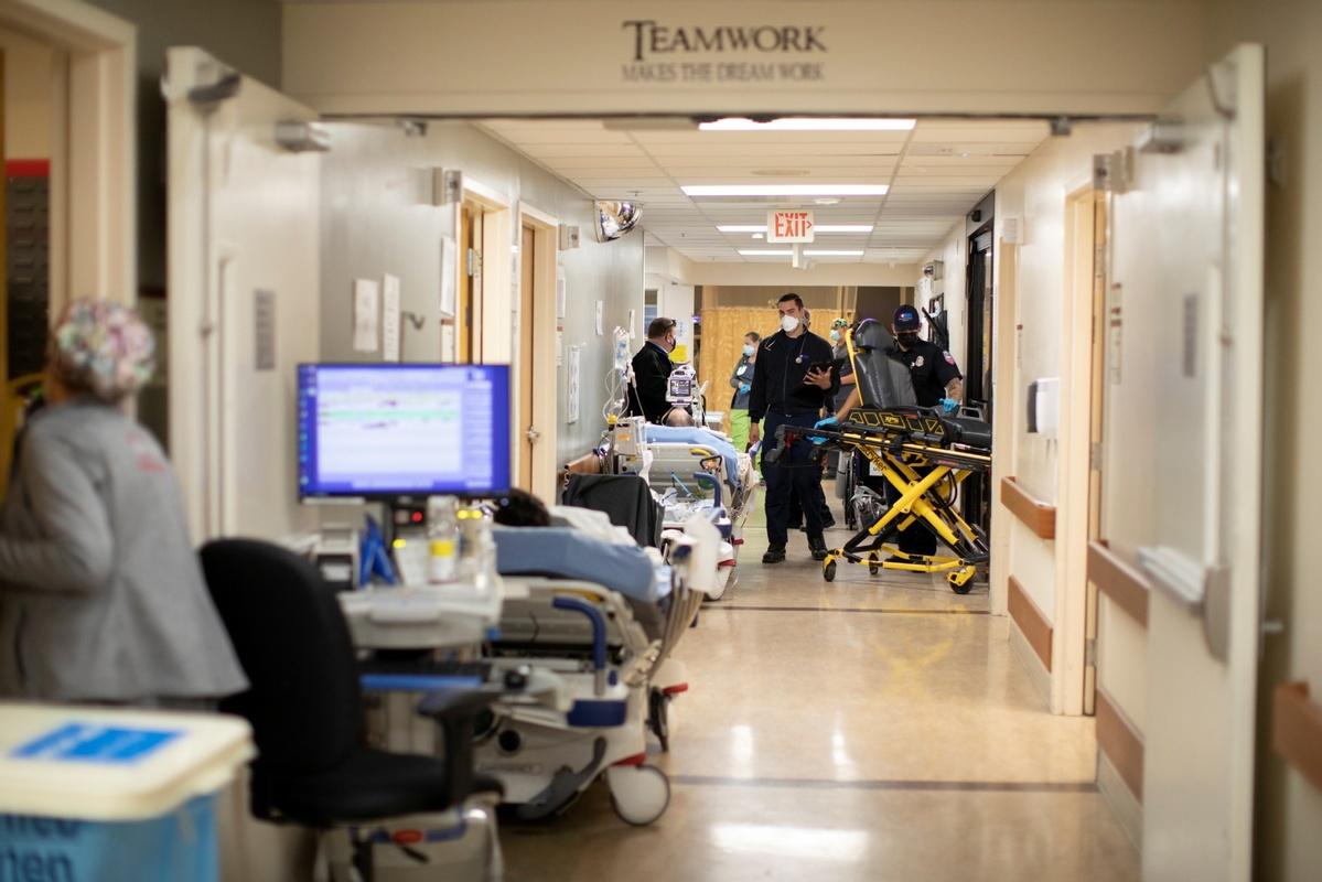 'Shameful': US virus deaths top 400K as Trump leaves office