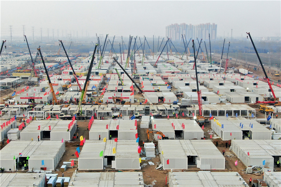 Shijiazhuang continues centralized quarantine to beat virus' spread