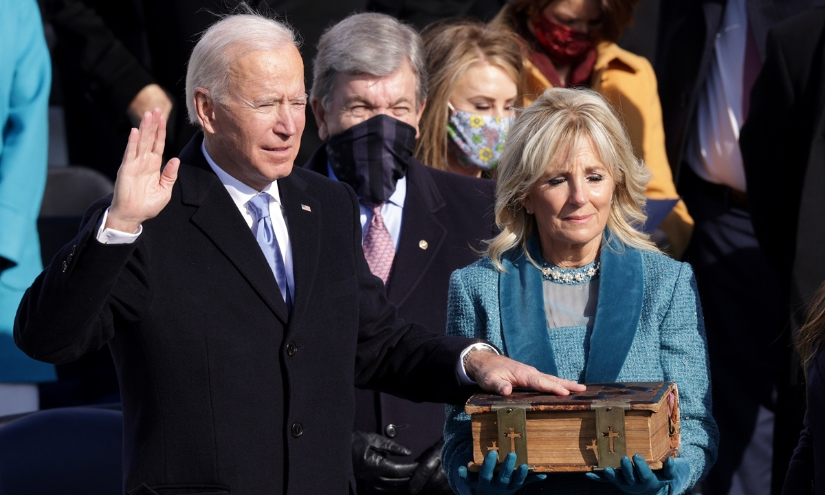 China, US should have courage to fix bilateral ties: Chinese FM spokesperson on Biden inauguration
