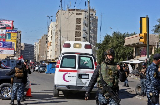 More than 20 dead in Baghdad twin suicide bombing: ministry