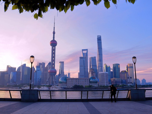 Shanghai's import, export values way up in 2020