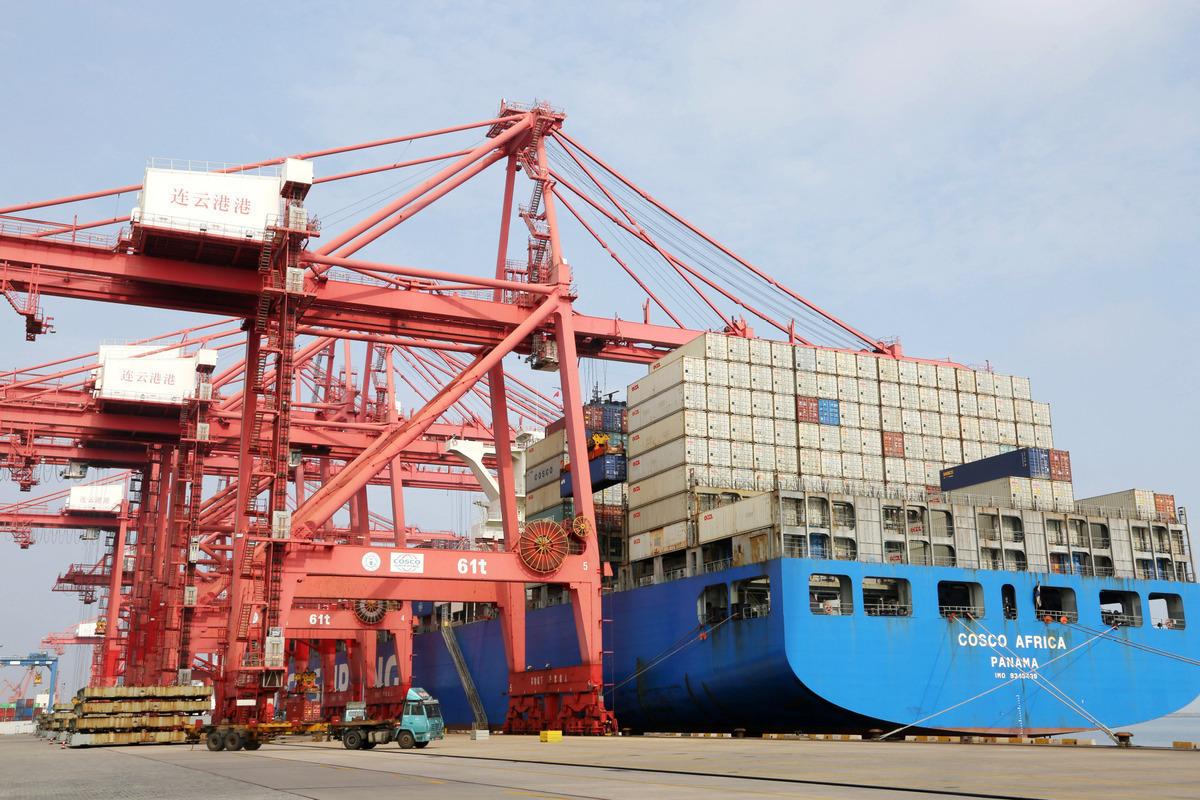 China's Jiangsu sees record foreign trade in 2020