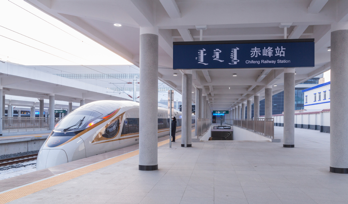 Beijing to Inner Mongolia: It's a flash by train