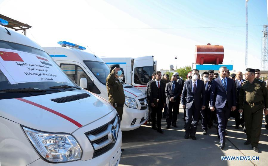China provides donation to Iraq to combat COVID-19