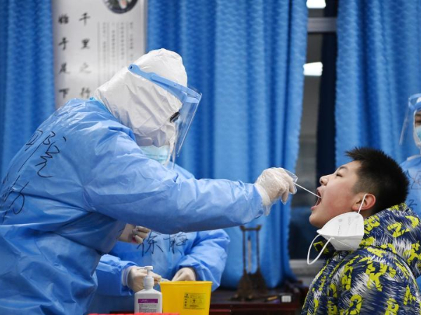 Chinese mainland reports 107 new confirmed COVID-19 cases