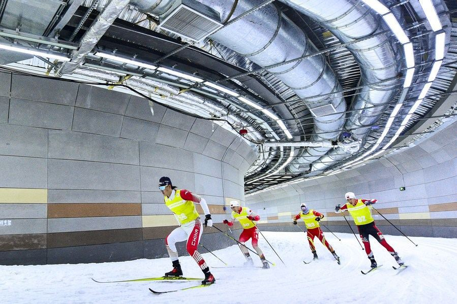 High-tech assisting Beijing Winter Olympics