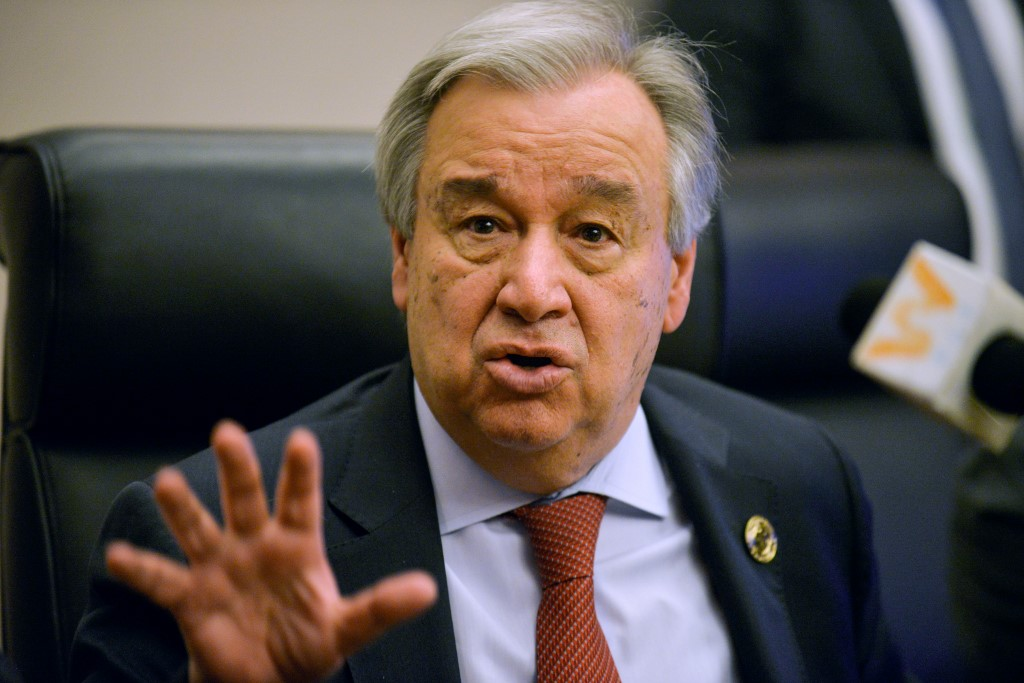 UN chief urges donor countries, banks to increase climate finance
