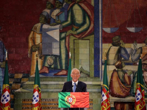 Portuguese president wins re-election in landslide victory: partial results
