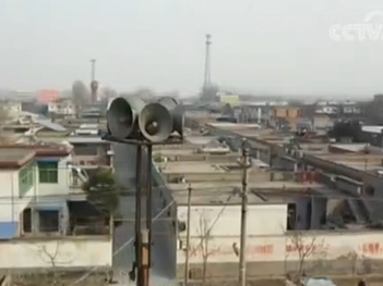 Chinese villages stress virus fight during holidays through classic loudspeaker campaign