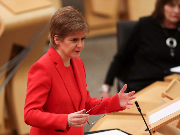 Scotland to push for independence referendum over UK opposition: Sturgeon
