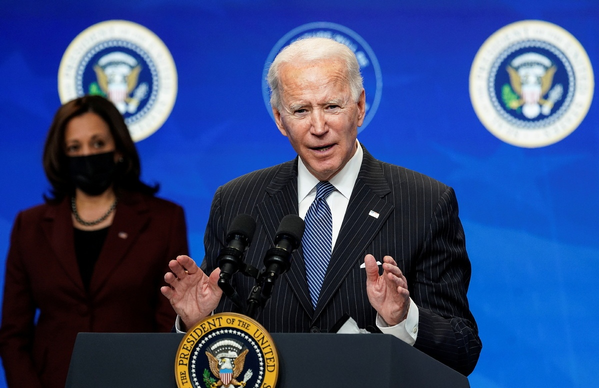 Biden gets supportive ear from Macron on key issues including pandemic