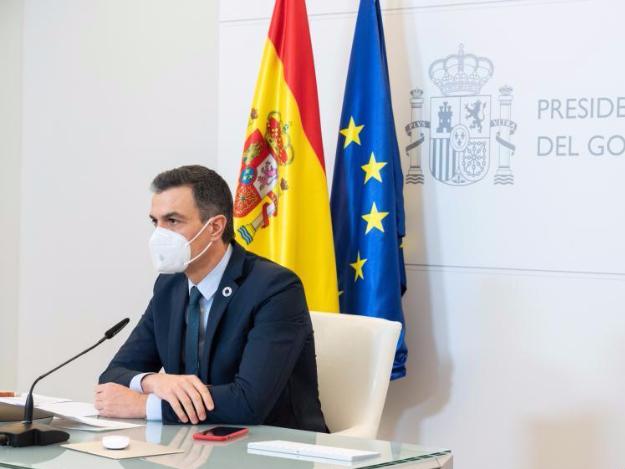 Spanish PM pledges renewed focus on jobs at virtual Davos Forum