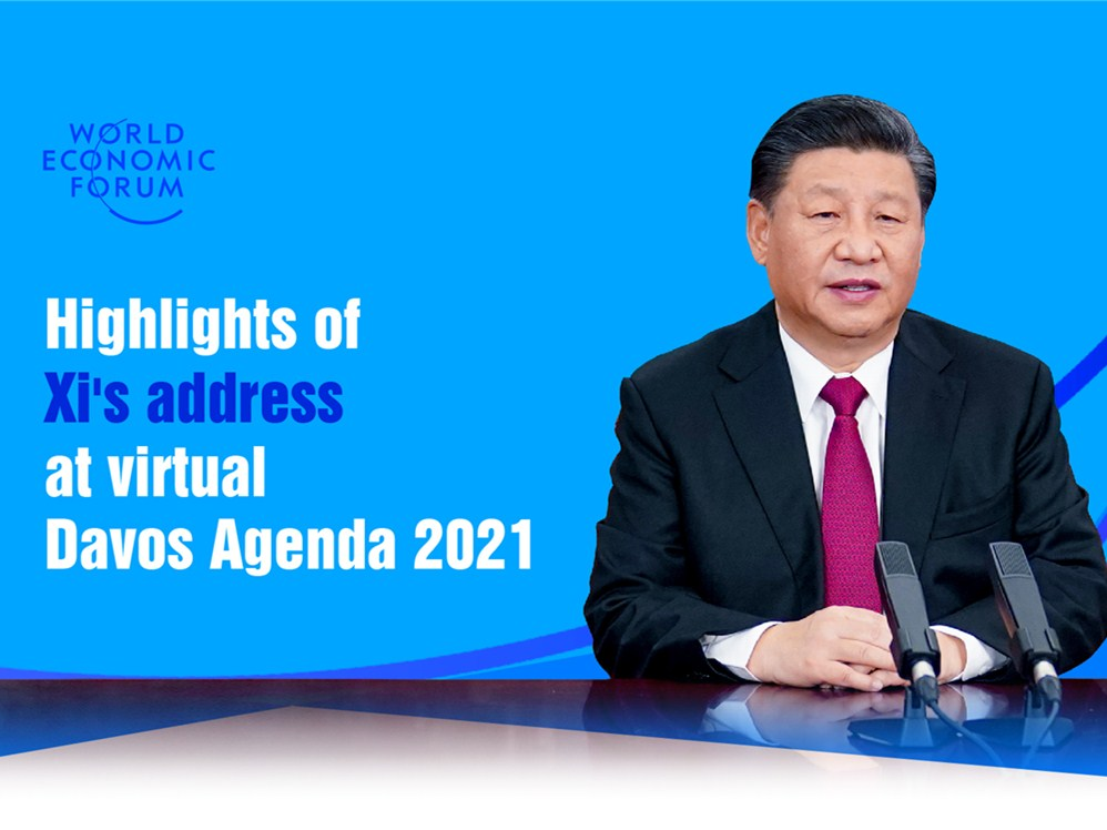 Highlights of President Xi's address at WEF Davos Agenda