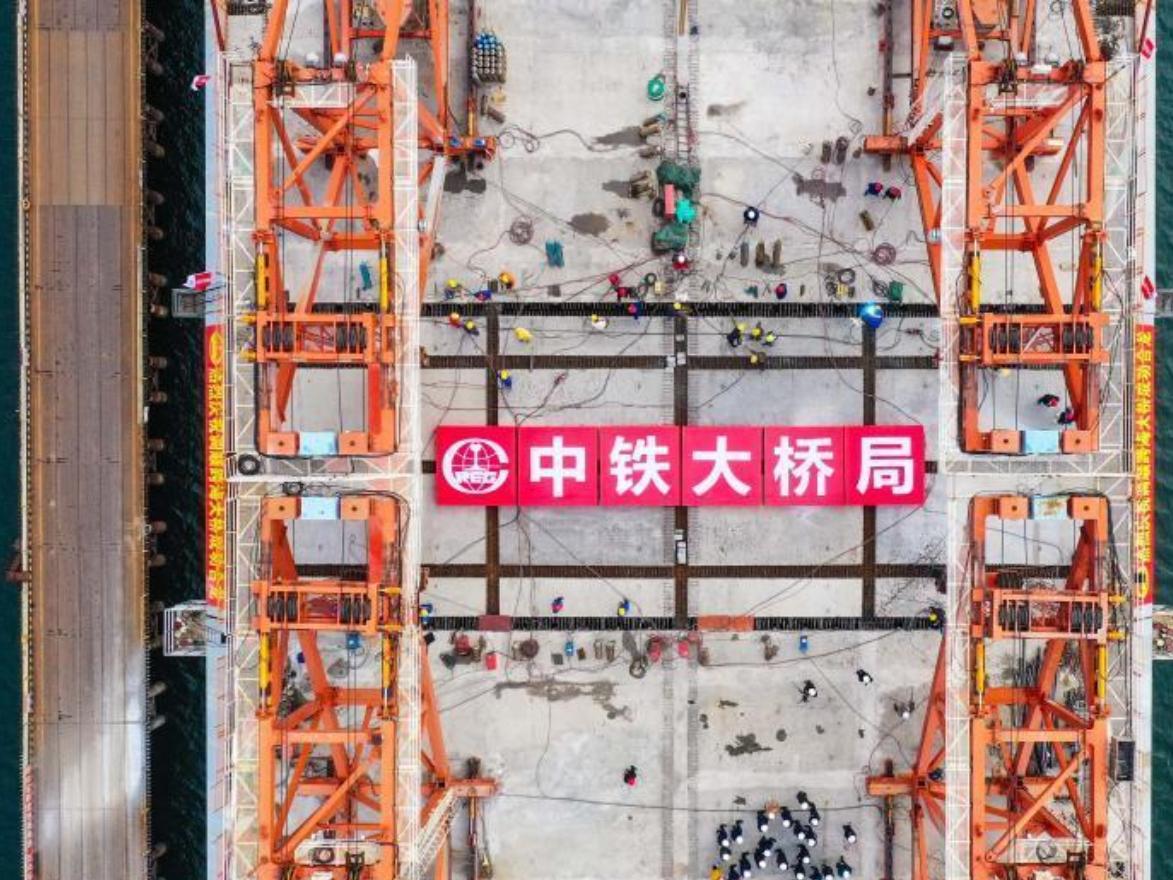 Tiaoshun Bridge finishes final stage for closure