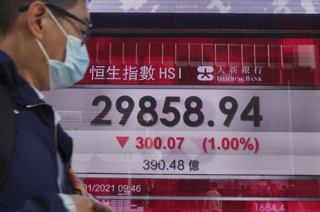 Asian markets sink on concerns over US stimulus