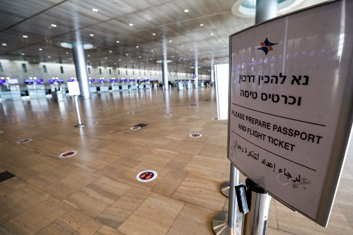 Israel halts flights to stop new COVID-19 variants