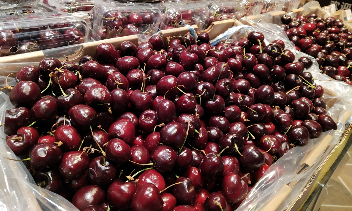 Imported cherry prices plunge 90% due to COVID-19 concern