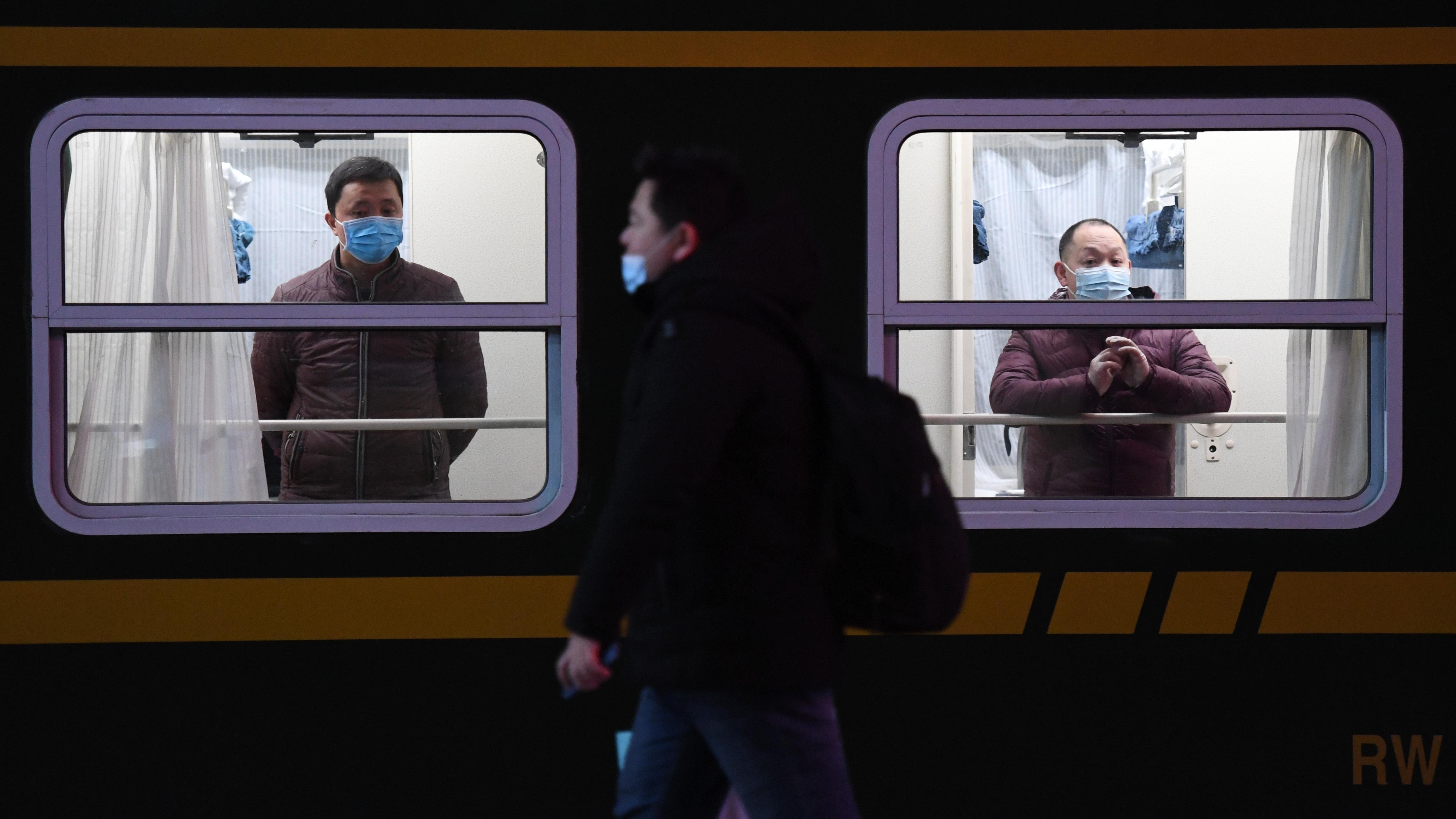 Beijing Railway Station sees start of holiday travel rush