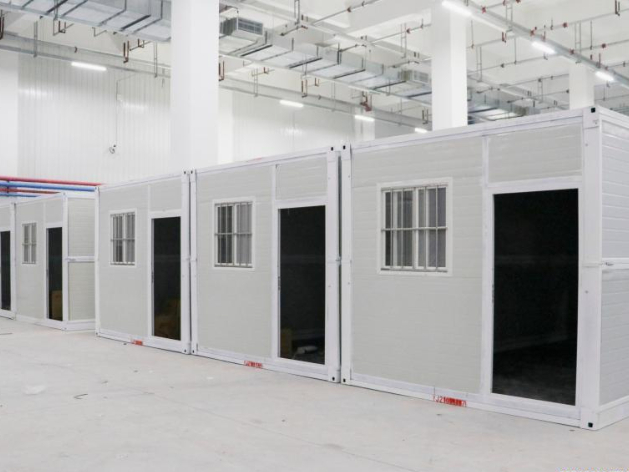 Observation center for centralized isolation finished installation in Jilin