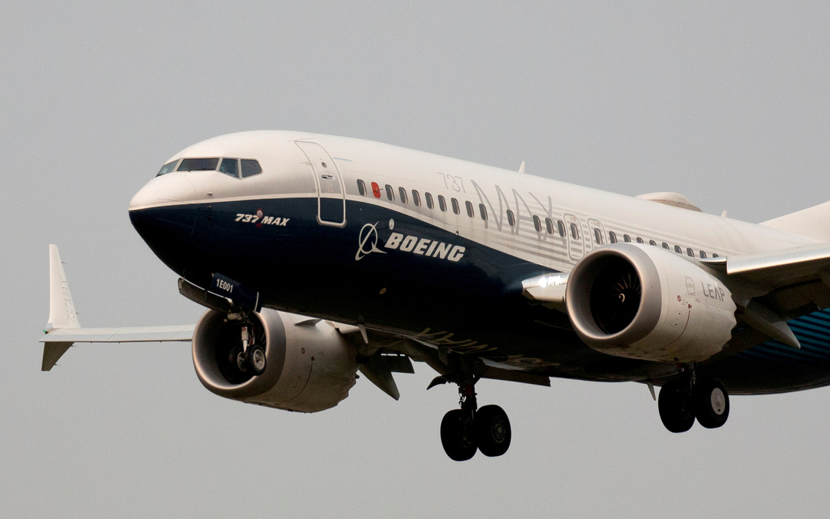 Boeing reports its largest yearly loss