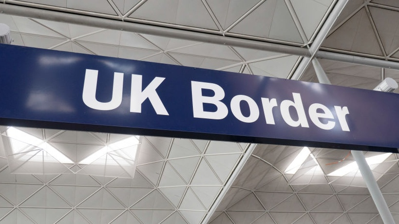 Arriving in the UK? Please wait in a hotel... and pick up the check