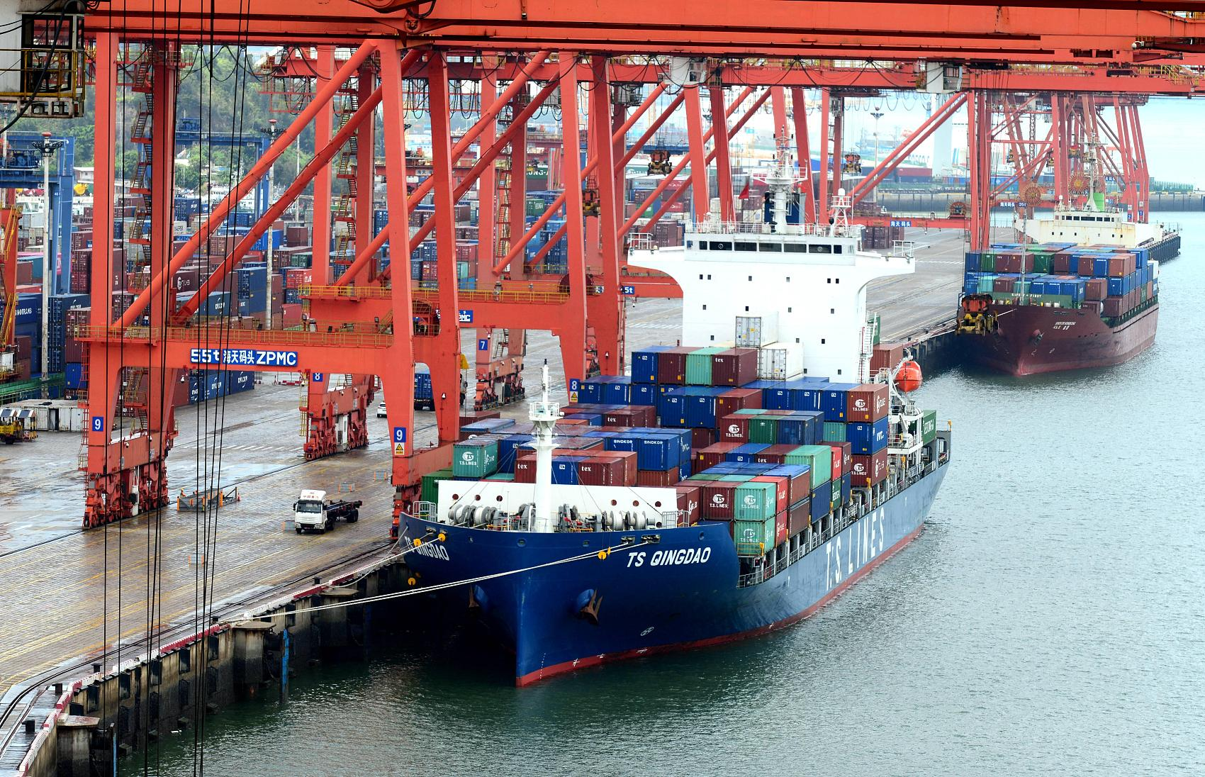 China remains world's largest trading nation in goods: customs