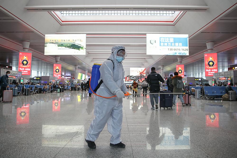 Anti-epidemic measures ensure safe homecoming as Spring Festival travel rush begins